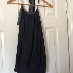 Black lululemon tank